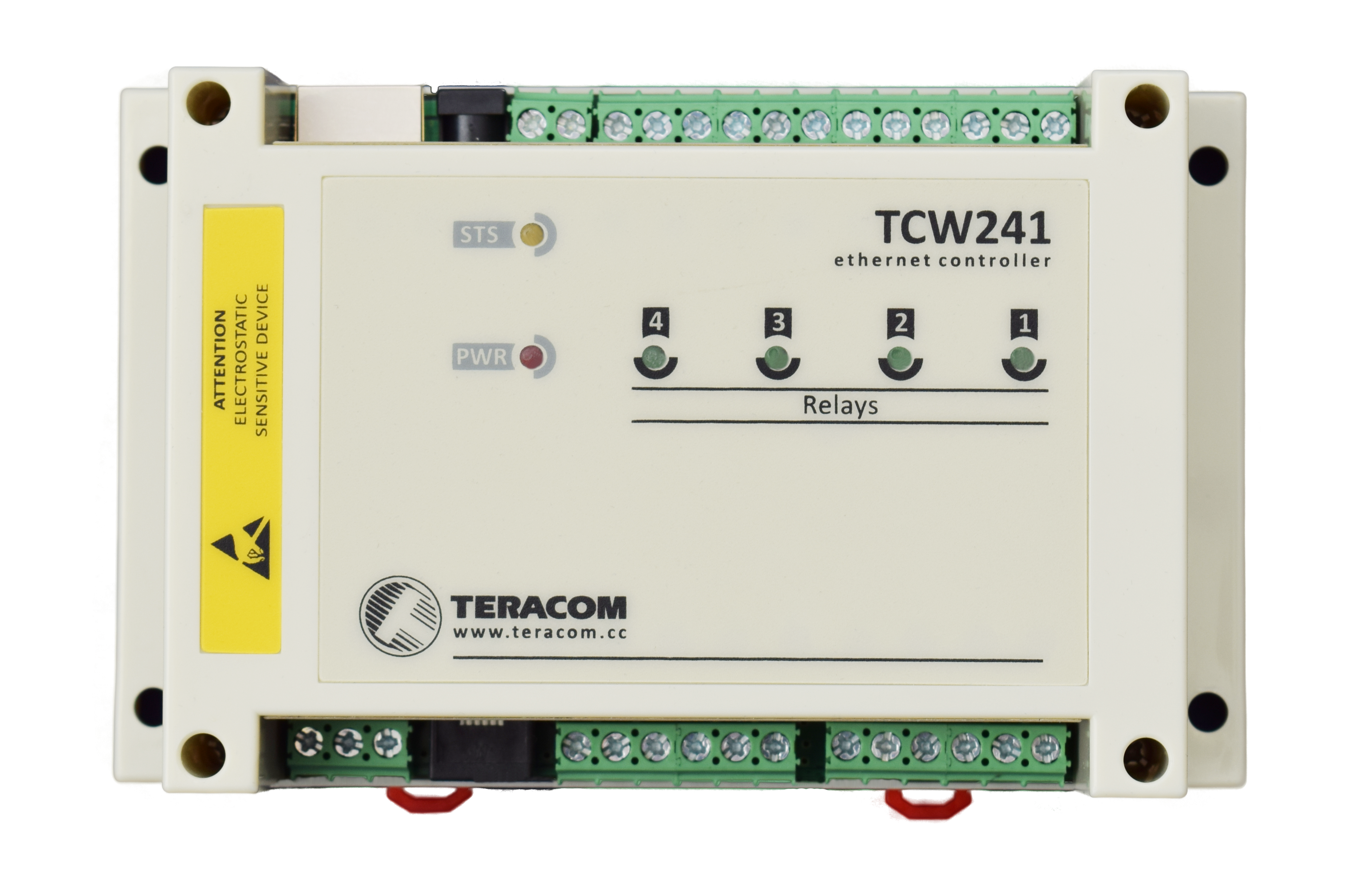 TCW241 is our new Ethernet I/O controller. #B5A216