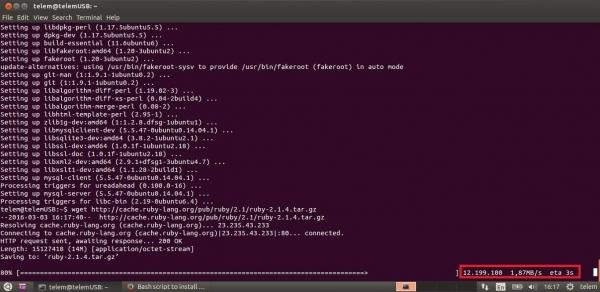 ThingSpeak-server-i2_Ruby_isntall